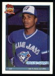 1991 Topps #274  Ken Williams  Front Thumbnail