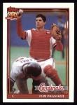 1991 Topps #308  Tom Pagnozzi  Front Thumbnail