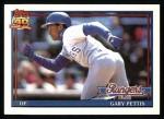 1991 Topps #314  Gary Pettis  Front Thumbnail