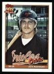 1991 Topps #319  Jeff McKnight  Front Thumbnail