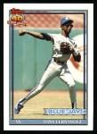 1991 Topps #320  Tony Fernandez  Front Thumbnail