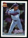 1991 Topps #322  Terry Shumpert  Front Thumbnail