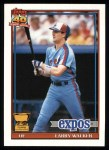 1991 Topps #339  Larry Walker  Front Thumbnail