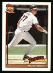 1991 Topps #358  Mark Parent  Front Thumbnail