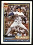 1991 Topps #417  Bill Krueger  Front Thumbnail