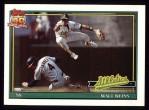 1991 Topps #455  Walt Weiss  Front Thumbnail