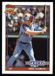 1991 Topps #483  Mike Aldrete  Front Thumbnail