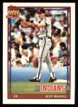 1991 Topps #488  Jeff Manto  Front Thumbnail