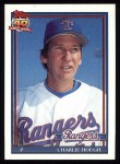 1991 Topps #495  Charlie Hough  Front Thumbnail