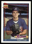 1991 Topps #582  Marty Clary  Front Thumbnail