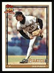 1991 Topps #621  Ted Power  Front Thumbnail