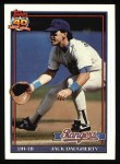 1991 Topps #622  Jack Daugherty  Front Thumbnail