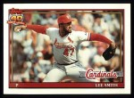 1991 Topps #660  Lee Smith  Front Thumbnail