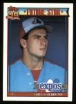 1991 Topps #91  Greg Colbrunn  Front Thumbnail