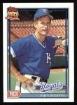 1991 Topps #291  John Wathan  Front Thumbnail