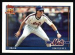 1991 Topps #302  Tim Teufel  Front Thumbnail