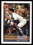 1991 Topps #305  Mike Scioscia  Front Thumbnail