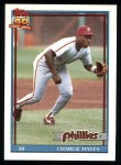 1991 Topps #312  Charlie Hayes  Front Thumbnail