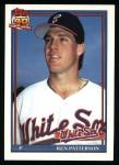 1991 Topps #326  Ken Patterson  Front Thumbnail