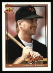 1991 Topps #349  Dave Gallagher  Front Thumbnail