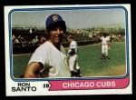 1974 Topps #270  Ron Santo  Front Thumbnail