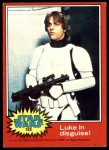 1977 Topps Star Wars #125   Luke in disguise Front Thumbnail