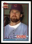 1991 Topps #415  Rick Sutcliffe  Front Thumbnail