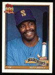 1991 Topps #465  Ken Griffey  Front Thumbnail