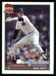 1991 Topps #536  Mike Witt  Front Thumbnail