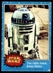 1977 Topps Star Wars #3   The Little Droid R2-D2 Front Thumbnail
