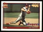 1991 Topps #648  Lee Stevens  Front Thumbnail