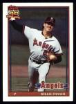 1991 Topps #784  Willie Fraser  Front Thumbnail