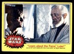 1977 Topps Star Wars #157   Learn about the Force Luke Front Thumbnail