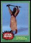 1977 Topps Star Wars #262   Creature of Tatooine Front Thumbnail