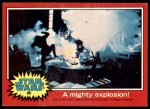 1977 Topps Star Wars #86   A mighty explosion Front Thumbnail