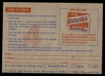 1957 Topps   Contest Card July 19th Back Thumbnail