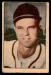 1952 Berk Ross  Johnny Sain  Front Thumbnail