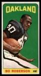 1965 Topps #149  Bo Roberson  Front Thumbnail