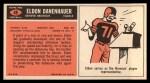 1965 Topps #48  Eldon Danenhauer  Back Thumbnail