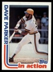 1982 Topps #41   -  Dave Parker In Action Front Thumbnail