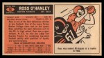 1965 Topps #16  Ross O'Hanley  Back Thumbnail
