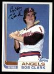 1982 Topps #74  Bob Clark  Front Thumbnail