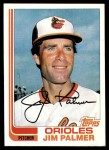 1982 Topps #80  Jim Palmer  Front Thumbnail