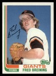 1982 Topps #144  Fred Breining  Front Thumbnail