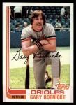 1982 Topps #204  Gary Roenicke  Front Thumbnail