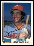1982 Topps #327  Joe Nolan  Front Thumbnail
