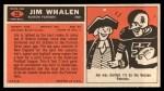 1965 Topps #22  Jim Whalen  Back Thumbnail