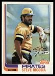 1982 Topps #652  Steve Nicosia  Front Thumbnail
