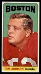 1965 Topps #1  Tom Addison  Front Thumbnail