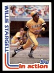 1982 Topps #716   -  Willie Stargell In Action Front Thumbnail